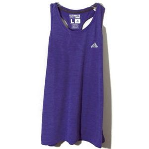 Adidas NWT racer back ultimate tank L